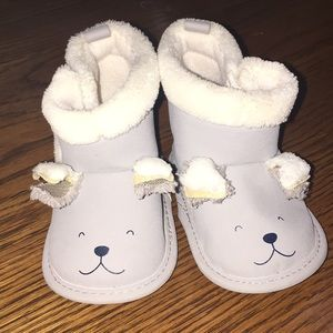 Other - Carter's - Gray infant booties 3-6m